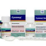 Антибиотик от кашля Сумамед