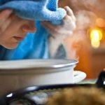 Ингаляция над картошкой при кашле и простуде