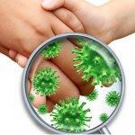 Картинка, как переносятся возбудители кишечного гриппа