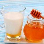 Молоко с медом от кашля рецепты