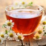Ромашковый чай при кашле